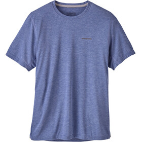 Patagonia M's Nine Trails SS Shirt Viking Blue